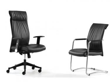 Adam leather office chair